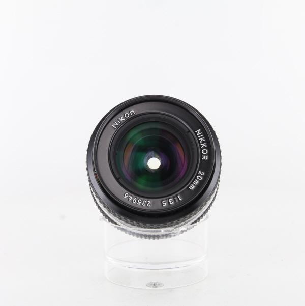 【中古】【AB】 (ニコン) Nikon AiNikkor 20/3.5S【中古レンズ MFレンズ】 ランク:AB