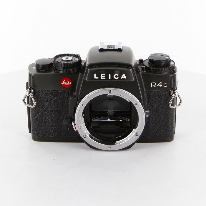 【中古】【B】 (ライカ) Leica R4-S (ブラック)【中古カメラ フィルム一眼】 ランク:B