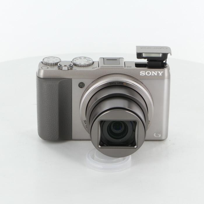 【中古】 (ソニー) SONY DSC-HX50V シルバー【中古カメラ コンパクトデジカメ】 ランク:AB