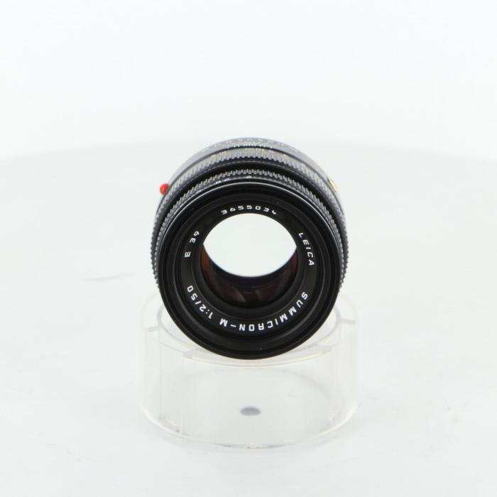 【中古】【B】 (ライカ) Leica ズミクロンM50/2(フード組込)【中古レンズ レンジファインダー用レンズ】 ランク:B