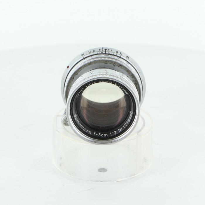 【中古】 (ライカ) Leica ズミクロン 50/2.沈胴式 Leica ズミクロン【中古レンズ レンジファインダー用レンズ (ライカ)】 ランク:B, 大垣市:1af669b6 --- mail.sayselfiee.com