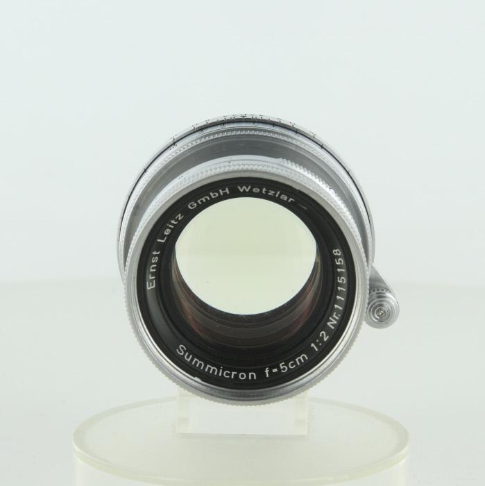 【中古】 (ライカ) Leica ズミクロンL5cm/2【中古レンズ レンジファインダー用レンズ】 ランク:B