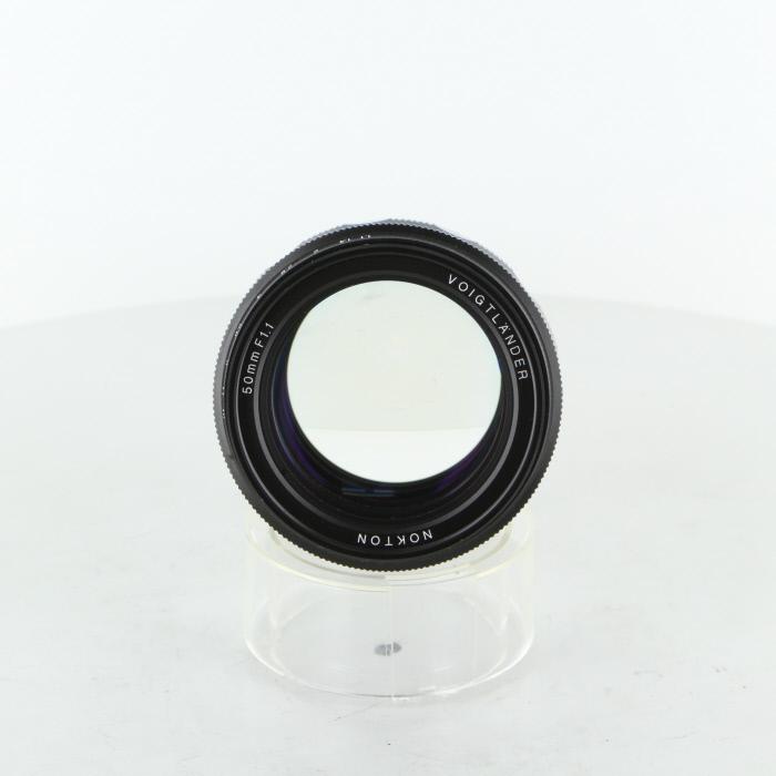 【中古】 (フォクトレンダー) Voigtlander NOKTON 50/1.1 VMマウント【中古レンズ レンジファインダー用レンズ】 ランク:B
