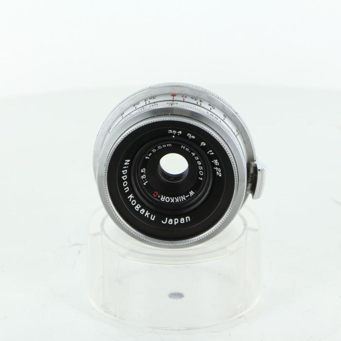 【中古】 (ニコン) Nikon W-NIKKOR・C3.5cm/3.5【中古レンズ レンジファインダー用レンズ】 ランク:B