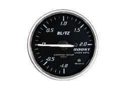 割引クーポン配布中 BLITZ ブリッツ 送料無料激安祭 レーシングメーターSD ブースト計 レッドイルミネーション RED 高級品