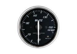 【マラソン期間中!全品2倍以上&特別クーポン!】BLITZ/ブリッツ レーシングメーターSD RED 温度計(レッドイルミネーション)