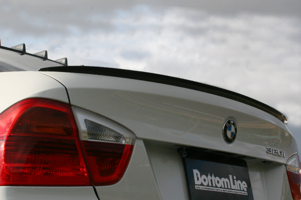 40%OFFの激安セール チャージスピード CHARGESPEED 撃速 BMW 3シリーズ 前期 E90 贈り物 カーボン製 リアスポイラー