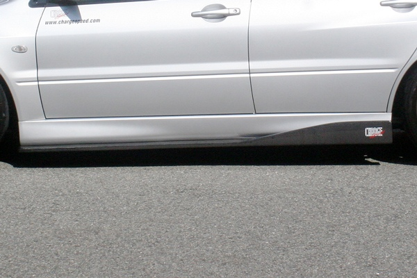 【スーパーセール!全品2倍以上&特別クーポン!】ChargeSpeed/チャージスピ-ド サイドボトムライン ランサーエボリューション7 CT9A カーボン製