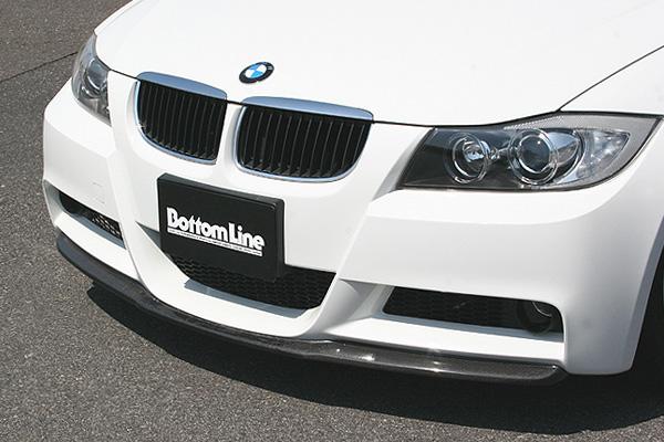 【スーパーセール!全品2倍以上&特別クーポン!】ChargeSpeed/チャージスピ-ド フロントボトムライン BMW 3シリーズ E90 M-Sportsパッケージ 前期 カーボン製