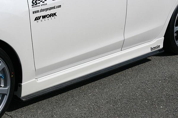 【割引クーポン配布中!】ChargeSpeed/チャージスピ-ド サイドボトムライン インプレッサスポーツ GP6、GP7 D・E型 純正サイドステップ装着車用 カーボン製