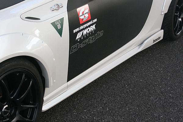 【スーパーセール!全品2倍以上&特別クーポン!】ChargeSpeed/チャージスピ-ド サイドボトムライン BRZ ZC6 FRP製/タイプ2