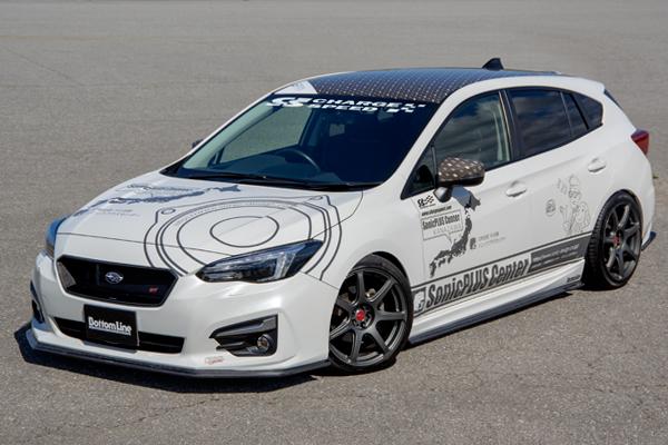 チャージスピード CHARGESPEED インプレッサスポーツ GT2 GT3 GT6 GT7 A型 B型 C型 ボトムライン3点セット カーボン製 返品OK 記念品 楽天年間ランキング受賞