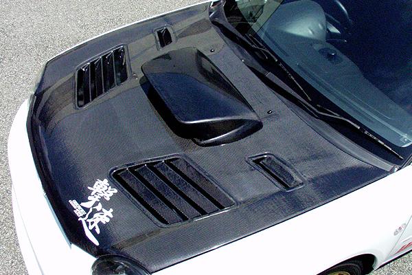 チャージスピード CHARGESPEED 撃速 インプレッサ GDA GDB A型 B型 ボンネット ダクト付 カーボン型