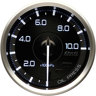 【マラソン期間中!全品2倍以上&特別クーポン!】Defi/デフィ ADVANCE A1 (アドバンスA1) 油圧計 商品番号:DF15001