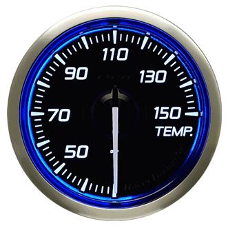 Defi/デフィ Racer Gauge N2(レーサーゲージ N2) 温度計(TEMP.) Φ52 ブルー 商品番号:DF16301