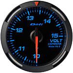 【割引クーポン配布中!】Defi/デフィ Racer Gauge(レーサーゲージ) 電圧計 52φ