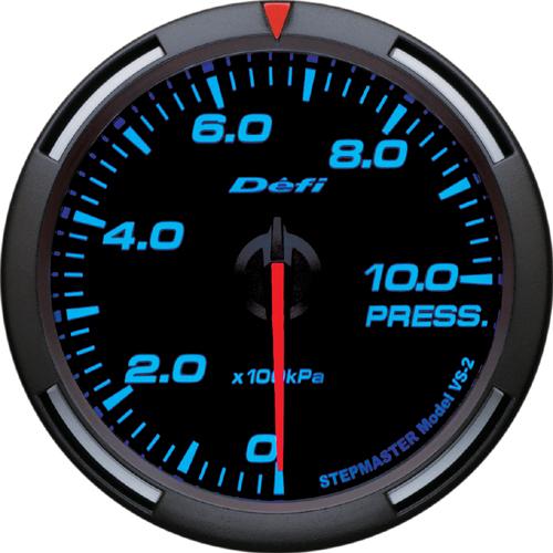 【割引クーポン配布中!】Defi/デフィ Racer Gauge(レーサーゲージ) 圧力計 60φ
