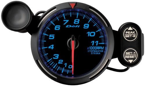 【マラソン期間中!全品2倍以上&特別クーポン!】Defi/デフィ Racer Gauge(レーサーゲージ) タコメーター/80φ 11000RPM