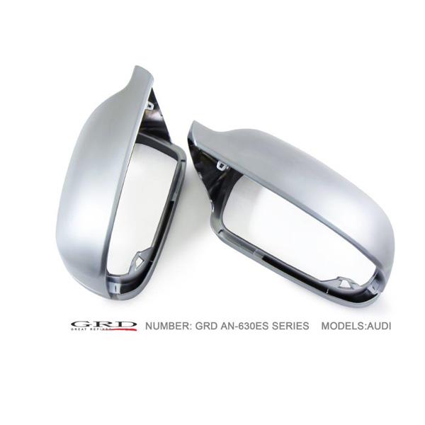 【スーパーセール!全品2倍以上&特別クーポン!】GRD/ジーアールディー ドアミラーカバー AUDI A6、S6/4G(C7) シルクマットクローム(Silk Matt chrome-plating) 商品番号:AN-860ES