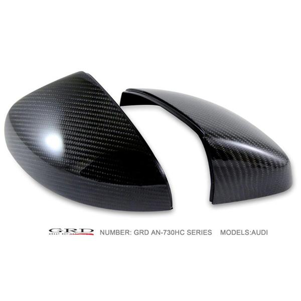 【スーパーセール!全品2倍以上&特別クーポン!】GRD/ジーアールディー ドアミラーカバー AUDI A3、S3/8V カーボン(High 3k-carbon) 商品番号:AN-730HC