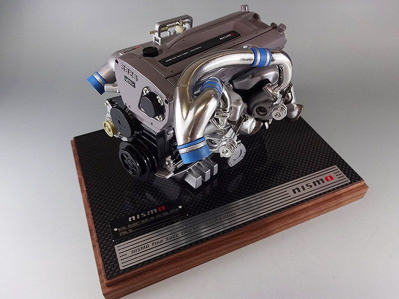 【割引クーポン配布中】日下エンジニアリング nismo FINESPEC FINALEDITION/ニスモ ファインスペック ファイナルエディション エンジン 1/6スケールモデル