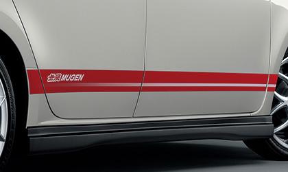 【スーパーセール!全品2倍以上&特別クーポン!】無限/MUGEN デカールステッカー ミラノレッド N-ONE/JG1、JG2 商品番号:08F30-XMG-K0S0-MR