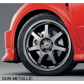 【割引クーポン配布中!】無限/MUGEN ホイール GP GUN METALLIC 18×7 1/2J インセット55 商品番号:42700-XXA-875G-55