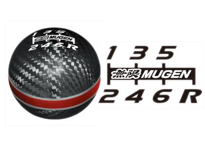 【割引クーポン配布中!】無限/MUGEN カーボンシフトノブ レッド S660/JW5 商品番号:54102-XLT-K2S0-RD