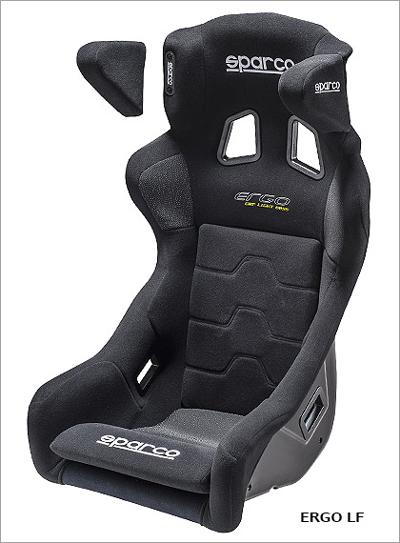 sparco/スパルコ ERGO LF(エルゴ LF) FIA規格公認モデル ブラック 商品番号:008722NR2M