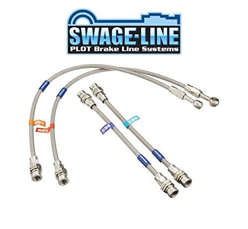 送料無料 割引クーポン配布中 SWAGE-LINE スウェッジライン ブレーキホース ステンレス ※メーカー直送で送料無料 セレナ スーパーセール期間限定 GC27 毎日がバーゲンセール GFC27 商品番号:SW2137N C27