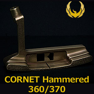 KRONOS GOLF(クロノス ゴルフ) CORNET Hammered 360/370(コルネット ハンマード) パター (日本正規品)【世界数量限定モデル】【限定各20本】