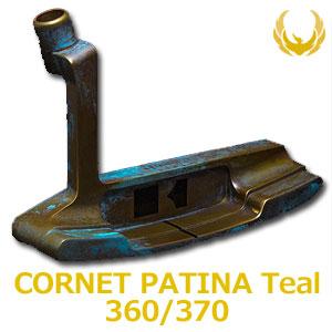 【即納】 KRONOS GOLF(クロノス ゴルフ) CORNET PATINA Teal 360/370(コルネット パティーナ ティール) パター (日本正規品)【世界数量限定モデル】【限定各20本】