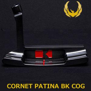 【即納】 KRONOS GOLF(クロノス ゴルフ) CORNET PATINA BK COG(コルネット パティーナブラック COG) パター (日本正規品)【世界数量限定モデル】【限定15本】