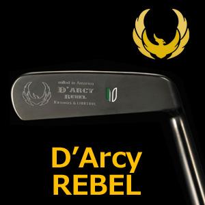 【即納】 KRONOS GOLF(クロノス ゴルフ) D'Arcy REBEL(ダーシー・レベル) パター (日本正規品) 【ルール不適合品】