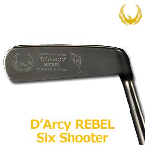 【即納】 KRONOS GOLF(クロノス ゴルフ) D'Arcy REBEL [Six Shooter](ダーシー・レベル シックスシューター) パター (日本正規品) 【世界数量限定モデル/ルール不適合品】