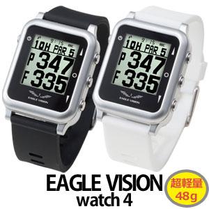 【即納】 EAGLE VISION watch4(イーグルビジョン ウォッチ4) 腕時計タイプゴルフナビ EV-717
