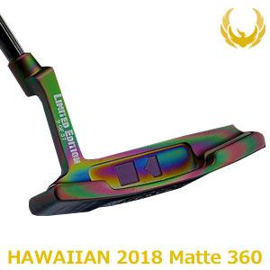 KRONOS GOLF(クロノス ゴルフ) HAWAIIAN 2018 Matte 360(ハワイアン 2018 マット 360) パター (日本正規品)【世界数量限定モデル】【限定37本】