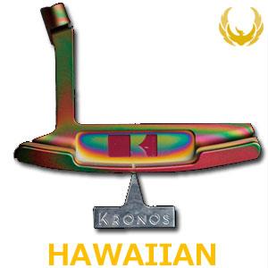 【即納】 KRONOS GOLF(クロノス ゴルフ) Hawaiian SATIN & MATTE(ハワイアン・サテン&マット) パター (日本正規品) 【世界数量限定モデル】