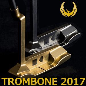 【即納】KRONOS GOLF(クロノス ゴルフ) TROMBONE 2017(トロンボーン 2017) パター (日本正規品)【世界数量限定モデル】【限定各40本】