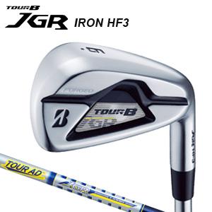 ブリヂストンゴルフ TOUR B JGR HF3 アイアン単品(#5) TOUR AD for JGR TG2-IR カーボンシャフト 【受注生産品】