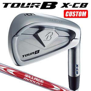 ブリヂストンゴルフ Tour B X-CB アイアン6本セット(#5~9,PW) N.S.PRO MODUS3 TOUR105 スチールシャフト(日本正規品)【2018モデル】《カスタムオーダー》 【受注生産】