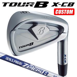 ブリヂストンゴルフ Tour B X-CB 単品アイアン(#4) N.S.PRO ZELOS8 スチールシャフト(日本正規品)【2018モデル】《カスタムオーダー》 【受注生産】