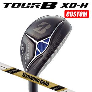 ブリヂストンゴルフ Tour B XD-H ユーティリティ Dynamic Gold TOUR ISSUE スチールシャフト(日本正規品)【2018モデル】《カスタムオーダー》 【受注生産】