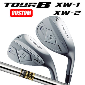 ブリヂストンゴルフ Tour B XW-1/XW-2 ウェッジ Dynamic Gold スチールシャフト(日本正規品)【2018モデル】《カスタムオーダー》 【受注生産】