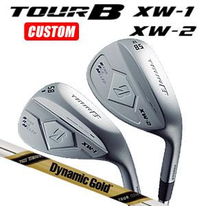 ブリヂストンゴルフ Tour B XW-1/XW-2 ウェッジ Dynamic Gold TOUR ISSUE スチールシャフト(日本正規品)【2018モデル】《カスタムオーダー》 【受注生産】