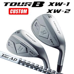 ブリヂストンゴルフ Tour B XW-1/XW-2 ウェッジ Tour AD-95 カーボンシャフト(日本正規品)【2018モデル】《カスタムオーダー》 【受注生産】