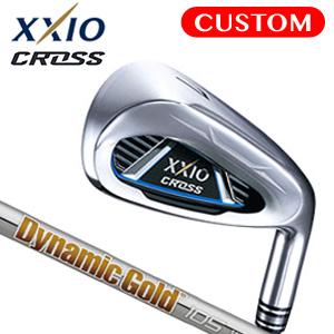 ダンロップ XXIO CROSS (ゼクシオ クロス) 単品アイアン(#5,#6,AW,DW,SW) Dynamic Gold 105 スチールシャフト 《カスタムオーダー》 【受注生産】