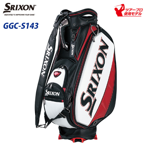 ダンロップ スリクソン キャデイバッグ GGC-S143 9.5型 約5.1kg 【プロレプリカモデル】 (日本正規品)