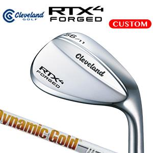 クリーブランド RTX 4 FORGED ウエッジ Dynamic Gold 115 スチールシャフト(日本正規品)《カスタムオーダー》【受注生産】