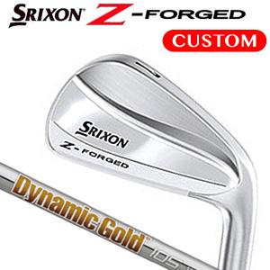 ダンロップ srixon(スリクソン) Z-FORGED 単品アイアン(#3,#4) Dynamic Gold 105 スチールシャフト 《カスタムオーダー》 【受注生産】